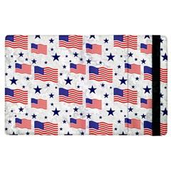 Flag Of The Usa Pattern Apple Ipad 2 Flip Case by EDDArt