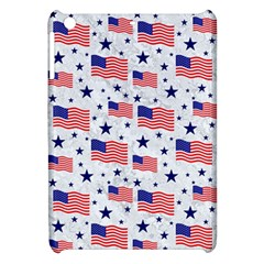Flag Of The Usa Pattern Apple Ipad Mini Hardshell Case by EDDArt