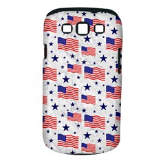 Flag Of The Usa Pattern Samsung Galaxy S Iii Classic Hardshell Case (pc+silicone) by EDDArt