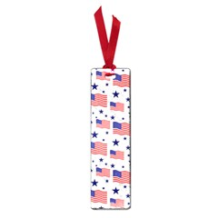 Flag Of The Usa Pattern Small Book Marks by EDDArt