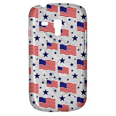 Flag Of The Usa Pattern Galaxy S3 Mini by EDDArt