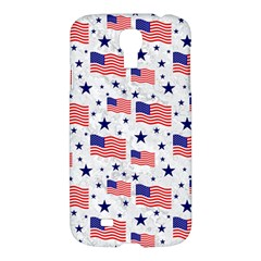 Flag Of The Usa Pattern Samsung Galaxy S4 I9500/i9505 Hardshell Case by EDDArt