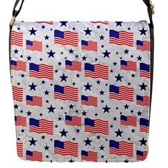 Flag Of The Usa Pattern Flap Covers (s)  by EDDArt