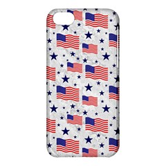 Flag Of The Usa Pattern Apple Iphone 5c Hardshell Case by EDDArt