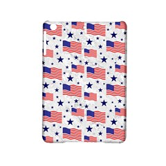 Flag Of The Usa Pattern Ipad Mini 2 Hardshell Cases by EDDArt