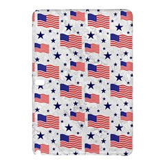 Flag Of The Usa Pattern Samsung Galaxy Tab Pro 12 2 Hardshell Case by EDDArt