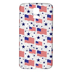 Flag Of The Usa Pattern Samsung Galaxy S5 Back Case (white) by EDDArt