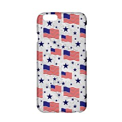 Flag Of The Usa Pattern Apple Iphone 6/6s Hardshell Case by EDDArt