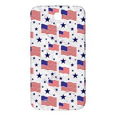 Flag Of The Usa Pattern Samsung Galaxy Mega I9200 Hardshell Back Case by EDDArt