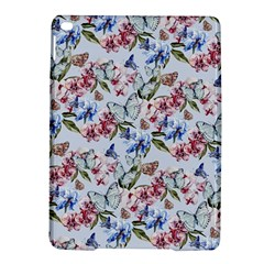 Watercolor Flowers Butterflies Pattern Blue Red Ipad Air 2 Hardshell Cases by EDDArt