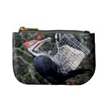 Woodpecker,sandhill crane - Mini Coin Purse