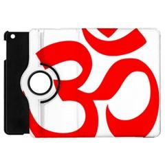 Hindu Om Symbol Apple Ipad Mini Flip 360 Case by abbeyz71