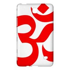 Hindu Om Symbol Samsung Galaxy Tab 4 (7 ) Hardshell Case  by abbeyz71