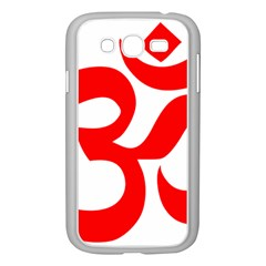 Hindu Om Symbol Samsung Galaxy Grand Duos I9082 Case (white) by abbeyz71