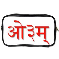 Hindu Om Symbol In Assamese, Bengali, And Oriya Languages  Toiletries Bags 2 Side by abbeyz71