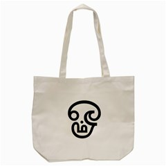 Hindu Om Symbol In Tamil  Tote Bag (cream) by abbeyz71