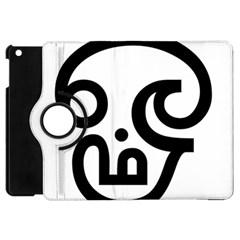 Hindu Om Symbol In Tamil  Apple Ipad Mini Flip 360 Case by abbeyz71