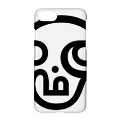Hindu Om Symbol In Tamil  Apple Iphone 7 Hardshell Case by abbeyz71