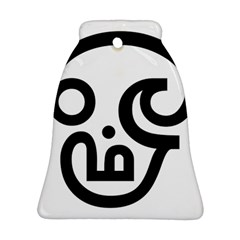 Hindu Om Symbol In Tamil Bell Ornament (two Sides) by abbeyz71