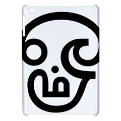 Hindu Om Symbol In Tamil Apple Ipad Mini Hardshell Case by abbeyz71