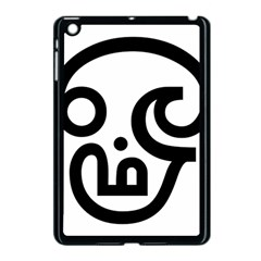 Hindu Om Symbol In Tamil Apple Ipad Mini Case (black) by abbeyz71