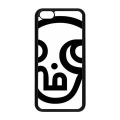 Hindu Om Symbol In Tamil Apple Iphone 5c Seamless Case (black) by abbeyz71
