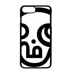 Hindu Om Symbol In Tamil Apple Iphone 7 Plus Seamless Case (black) by abbeyz71