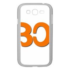 Hindu Om Symbol In Malayalam Script Samsung Galaxy Grand Duos I9082 Case (white) by abbeyz71