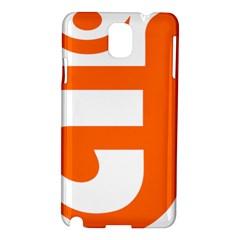 Om Symbol In Jainism  Samsung Galaxy Note 3 N9005 Hardshell Case by abbeyz71