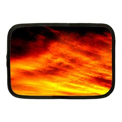 Black Yellow Red Sunset Netbook Case (medium)