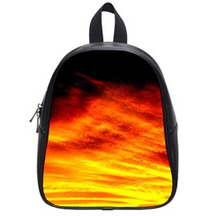 Black Yellow Red Sunset School Bags (small)  by Costasonlineshop