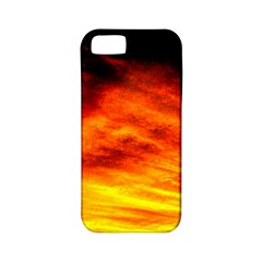 Black Yellow Red Sunset Apple Iphone 5 Classic Hardshell Case (pc+silicone)