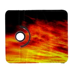 Black Yellow Red Sunset Galaxy S3 (flip/folio)