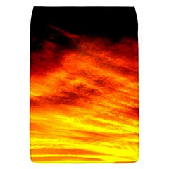 Black Yellow Red Sunset Flap Covers (s)