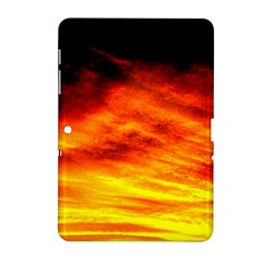 Black Yellow Red Sunset Samsung Galaxy Tab 2 (10 1 ) P5100 Hardshell Case