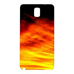 Black Yellow Red Sunset Samsung Galaxy Note 3 N9005 Hardshell Back Case by Costasonlineshop