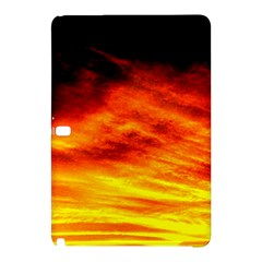 Black Yellow Red Sunset Samsung Galaxy Tab Pro 10 1 Hardshell Case by Costasonlineshop