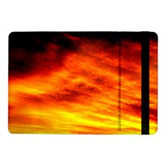 Black Yellow Red Sunset Samsung Galaxy Tab Pro 10 1  Flip Case by Costasonlineshop
