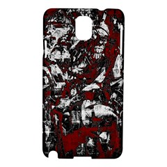 Pattern Samsung Galaxy Note 3 N9005 Hardshell Case by Valentinaart