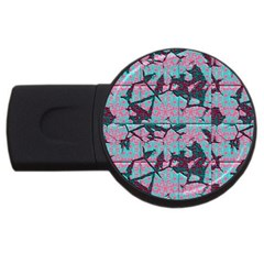 Cracked Tiles             Usb Flash Drive Round (2 Gb) by LalyLauraFLM