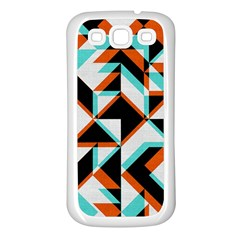 4 Colors Shapes    Samsung Galaxy S7710 Xcover 2 Hardshell Case by LalyLauraFLM
