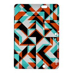 4 Colors Shapes    Kindle Fire Hdx Hardshell Case by LalyLauraFLM