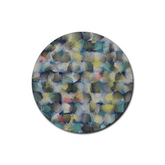 Misc Brushes           Rubber Round Coaster (4 Pack) by LalyLauraFLM