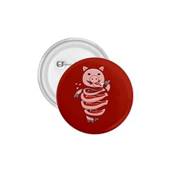 Red Stupid Self Eating Gluttonous Pig 1 75  Buttons by CreaturesStore