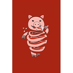 Red Stupid Self Eating Gluttonous Pig 5 5  X 8 5  Notebooks by CreaturesStore