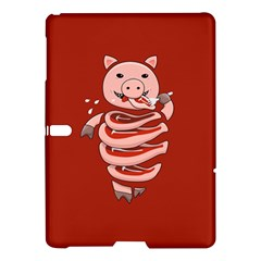 Red Stupid Self Eating Gluttonous Pig Samsung Galaxy Tab S (10 5 ) Hardshell Case  by CreaturesStore