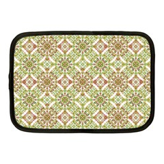 Colorful Stylized Floral Boho Netbook Case (medium)  by dflcprints
