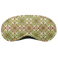 Colorful Stylized Floral Boho Sleeping Masks by dflcprints