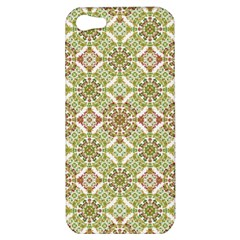 Colorful Stylized Floral Boho Apple Iphone 5 Hardshell Case by dflcprints