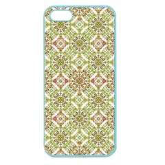 Colorful Stylized Floral Boho Apple Seamless Iphone 5 Case (color) by dflcprints
